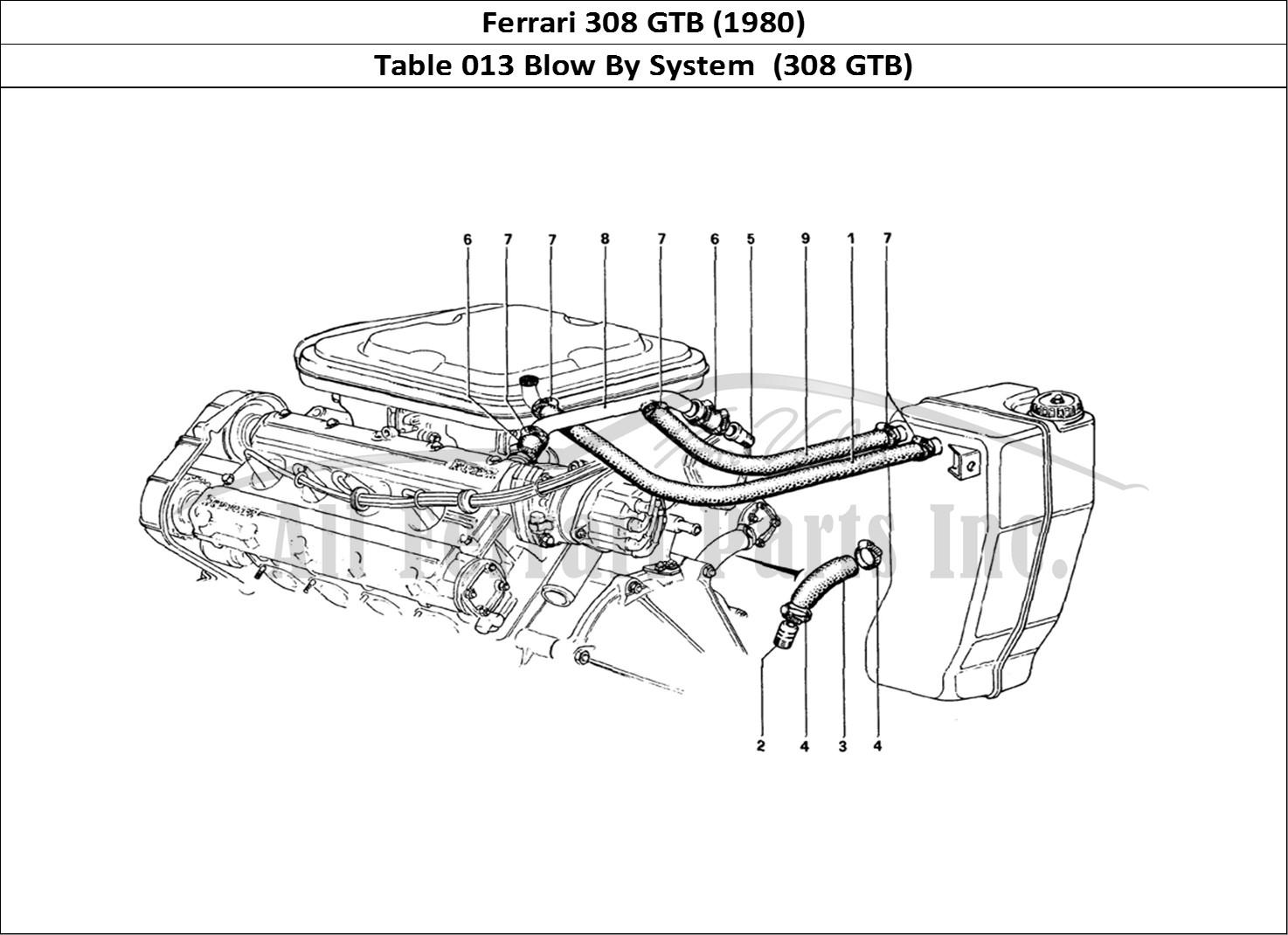 Buy original Ferrari 308 GTB (1980) 013 Blow By System