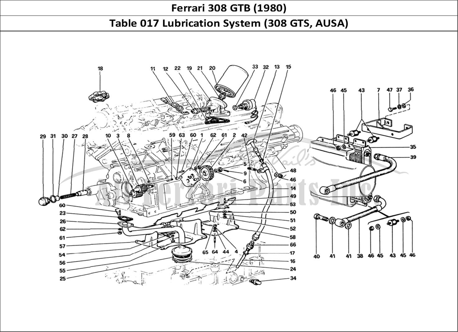 Buy original Ferrari 308 GTB (1980) 017 Lubrication System