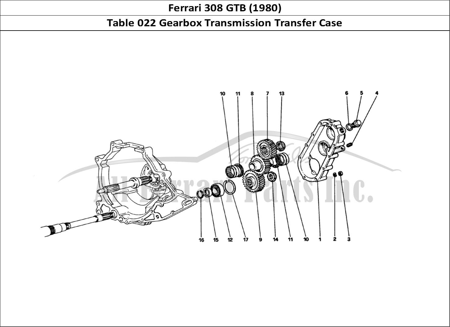 Buy original Ferrari 308 GTB (1980) 022 Gearbox