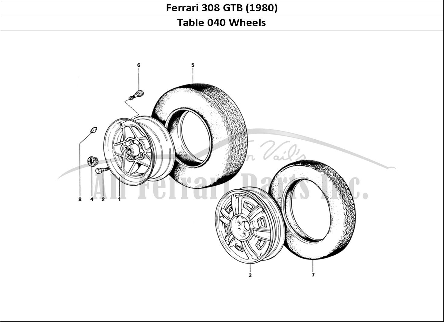 Buy original Ferrari 308 GTB (1980) 040 Wheels Ferrari