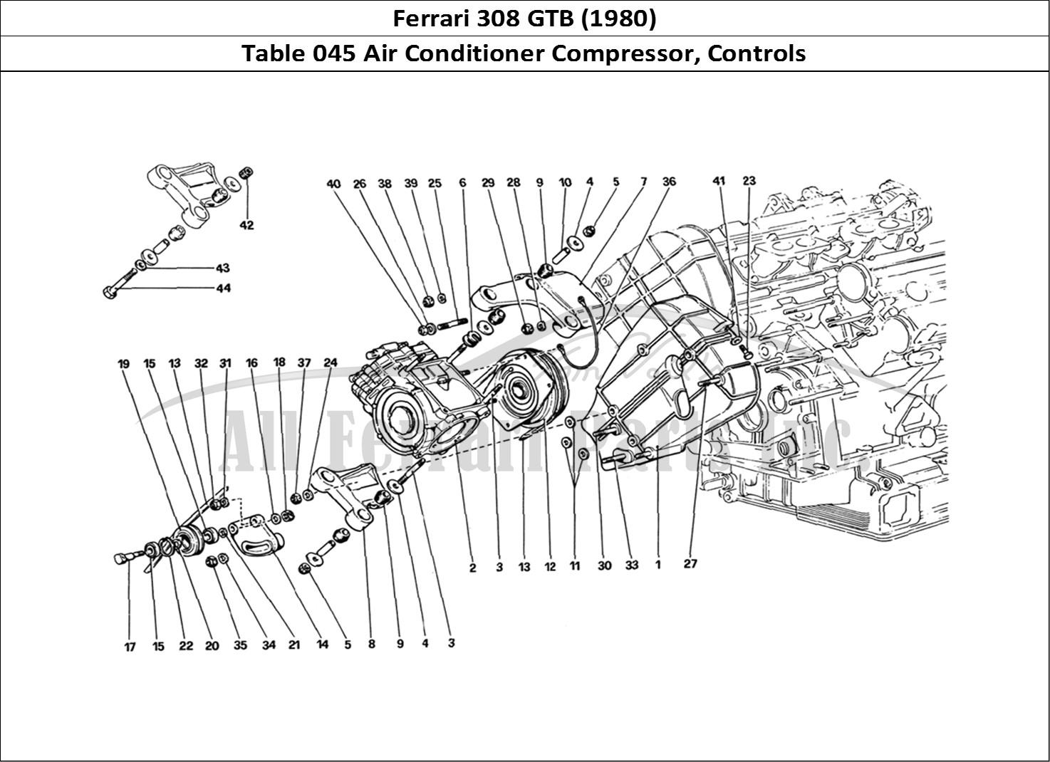Buy original Ferrari 308 GTB (1980) 045 Air Conditioner