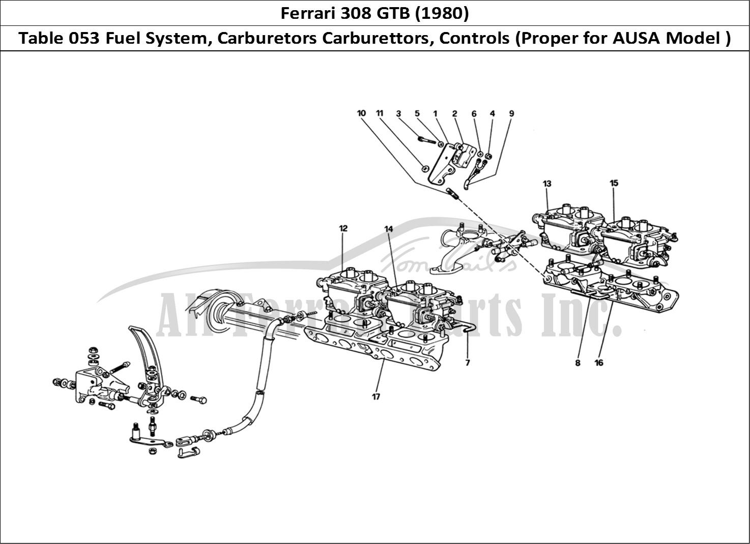 Buy original Ferrari 308 GTB (1980) 053 Fuel System