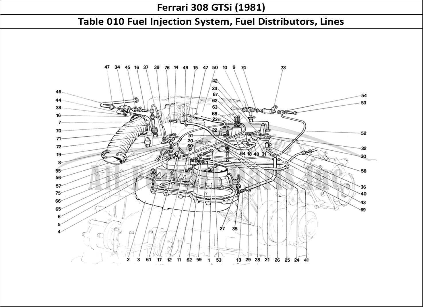 Buy original Ferrari 308 GTSi (1981) 010 Fuel Injection