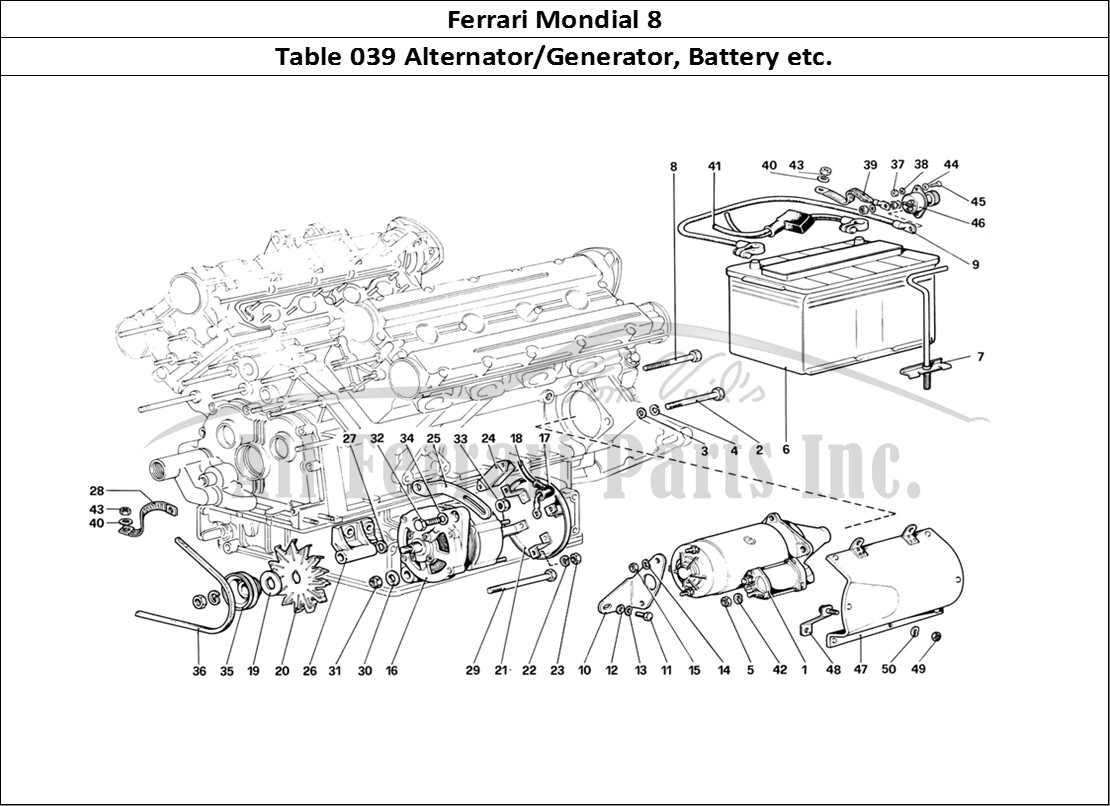 Buy original Ferrari Mondial 8 039 Alternator/Generator