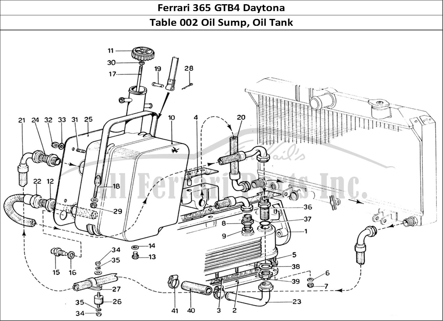 Buy original Ferrari 365 GTB4 Daytona 002 Oil Sump, Oil