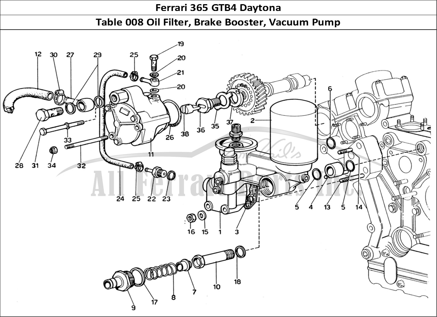 Buy Original Ferrari 365 Gtb4 Daytona 008 Oil Filter
