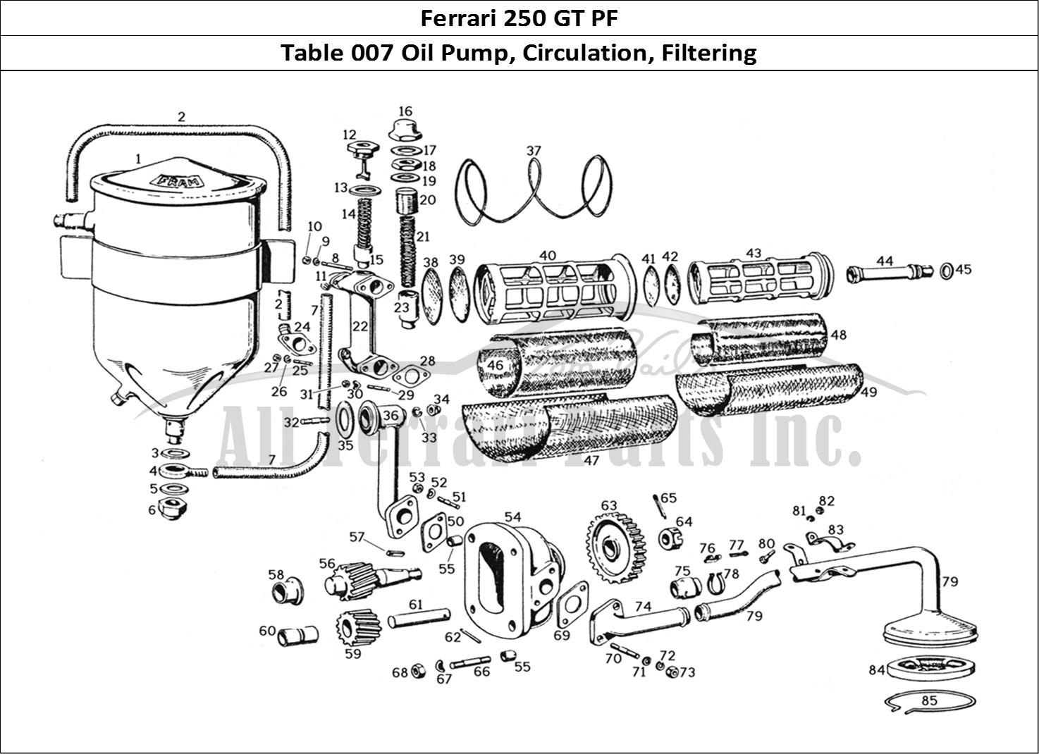 Buy original Ferrari 250 GT PF 007 Oil Pump, Circulation