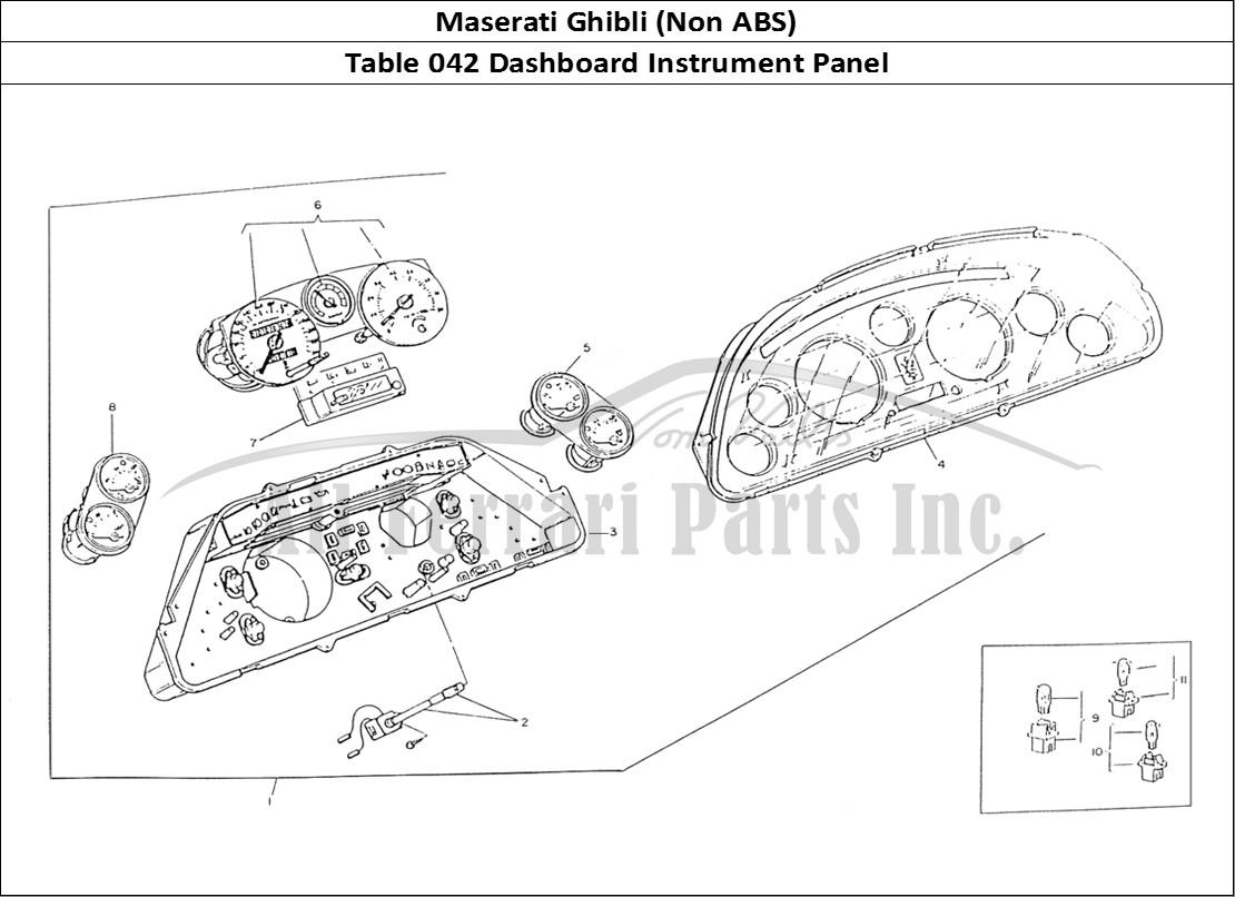 Buy original Maserati Ghibli (Non ABS) 042 Dashboard