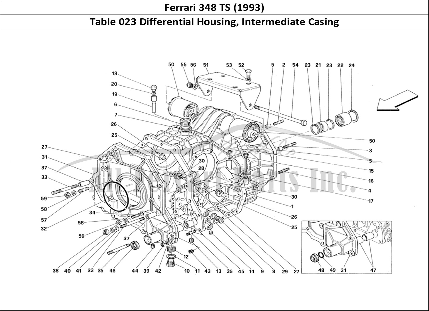 Buy original Ferrari 348 TS (1993) 023 Differential