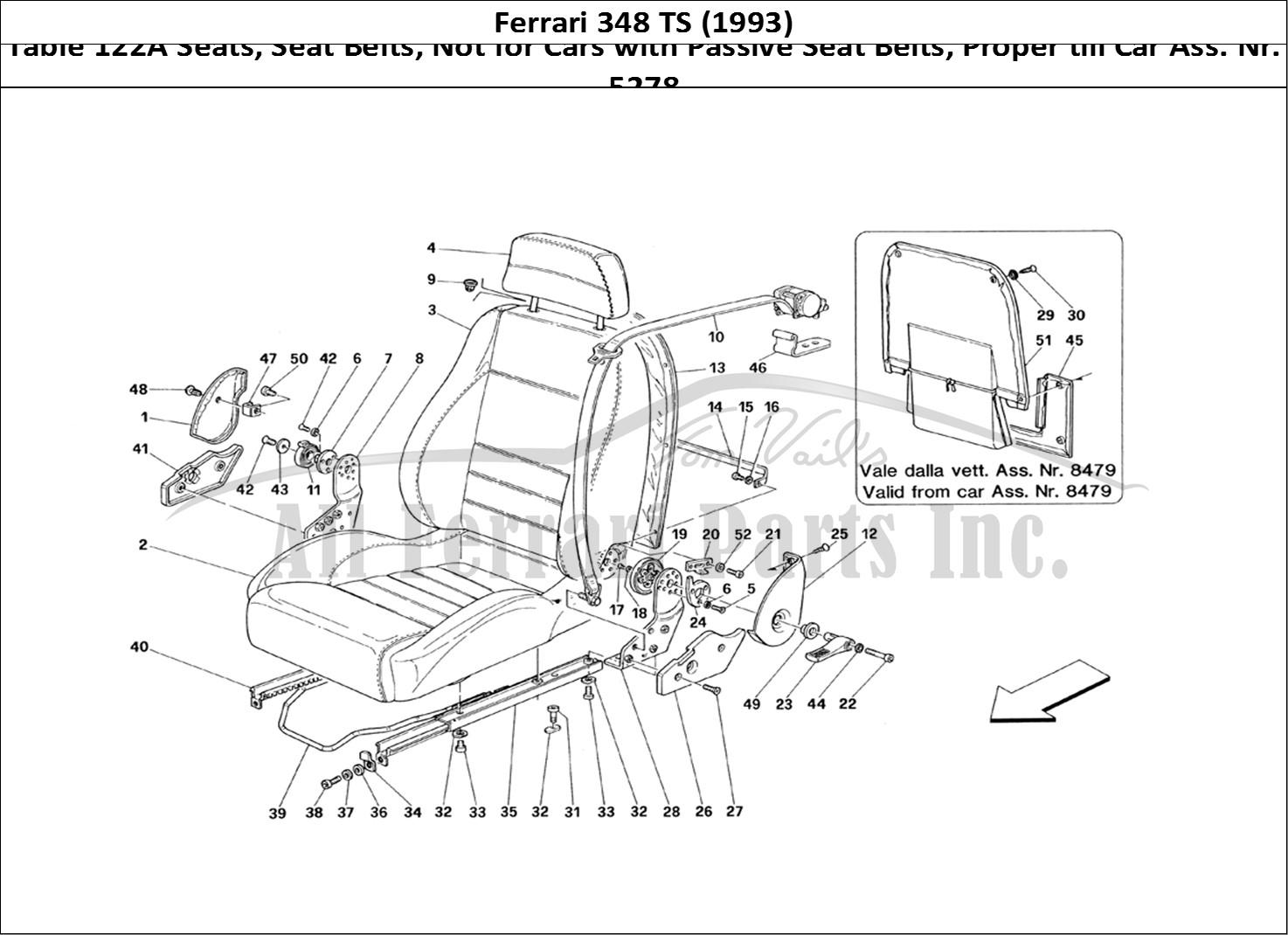 Buy Original Ferrari 348 Ts 122a Seats Seat Belts