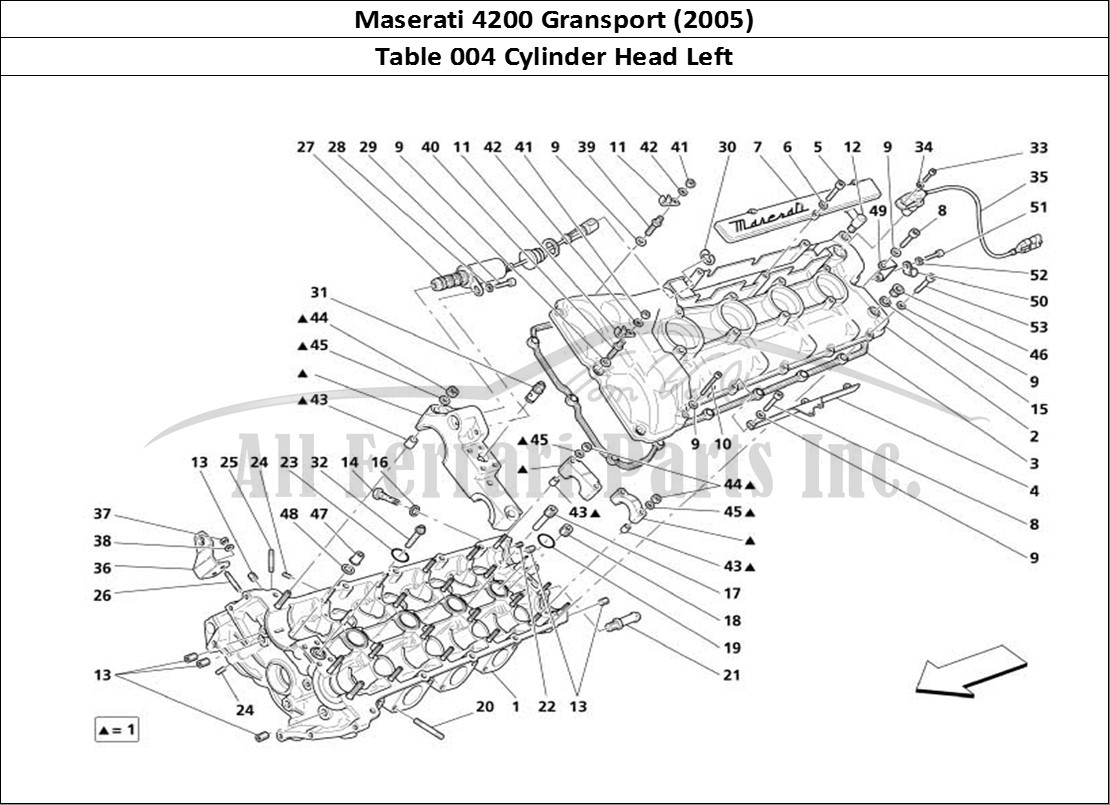 Buy Original Maserati Gransport 004 Cylinder