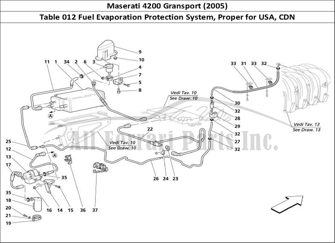 Buy Original Maserati Gransport 012 Fuel