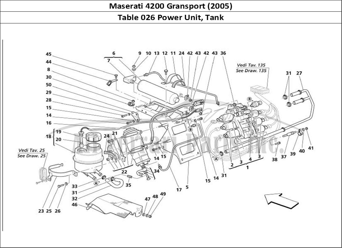 Buy original Maserati 4200 Gransport (2005) 026 Power Unit