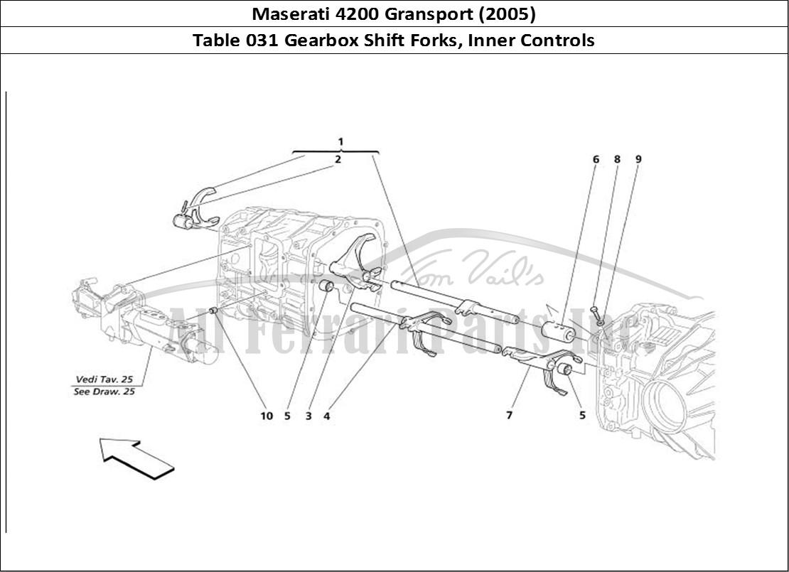 Buy Original Maserati Gransport 031 Gearbox Shift Forks Inner Controls Ferrari