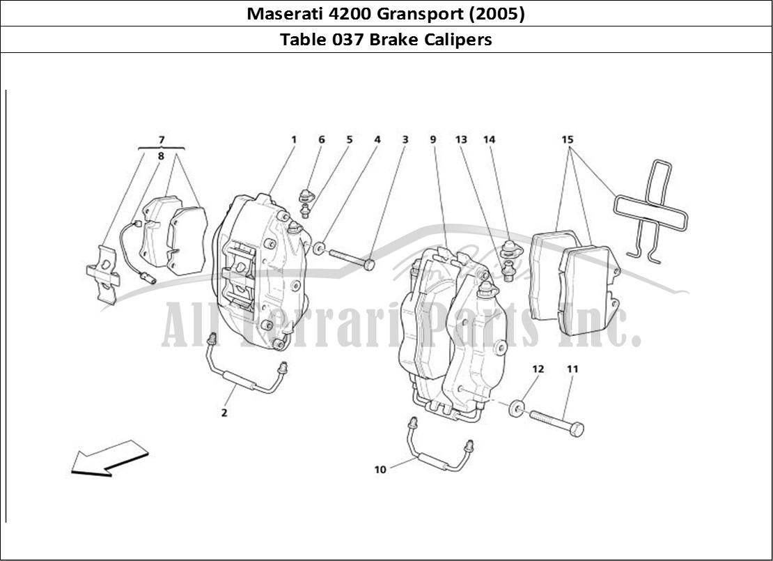 Buy Original Maserati Gransport 037 Brake