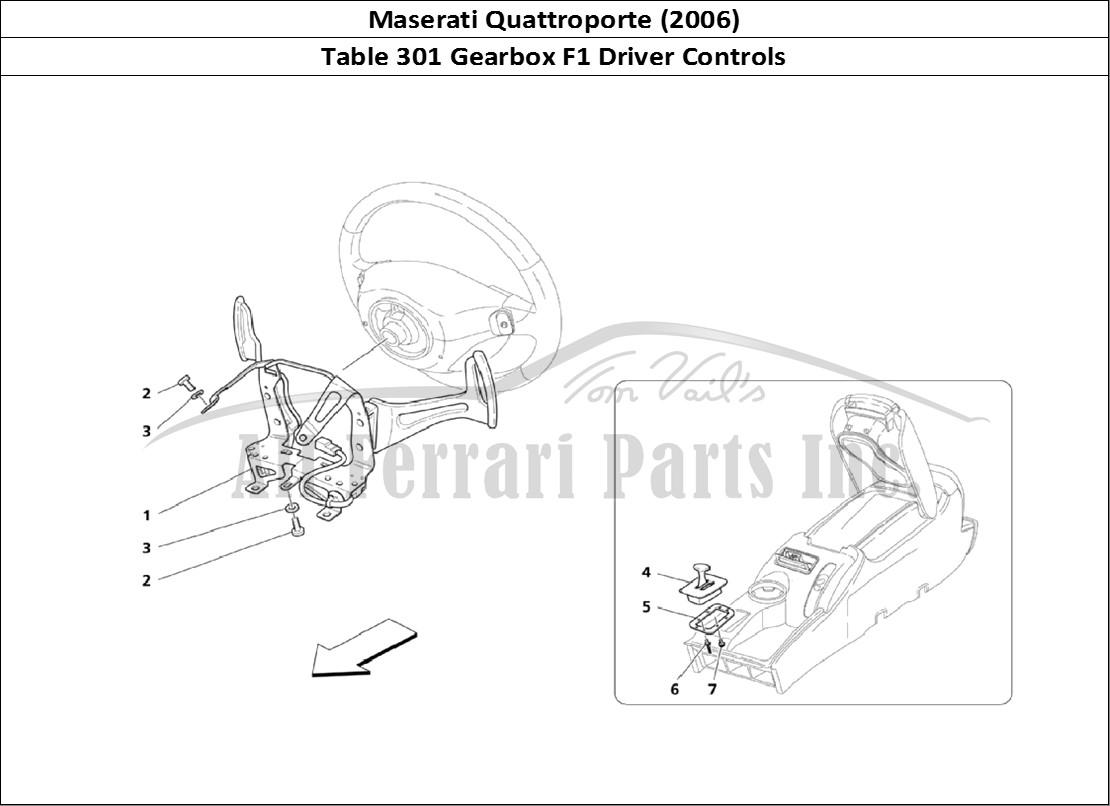 Buy original Maserati Quattroporte (2006) 301 Gearbox F1