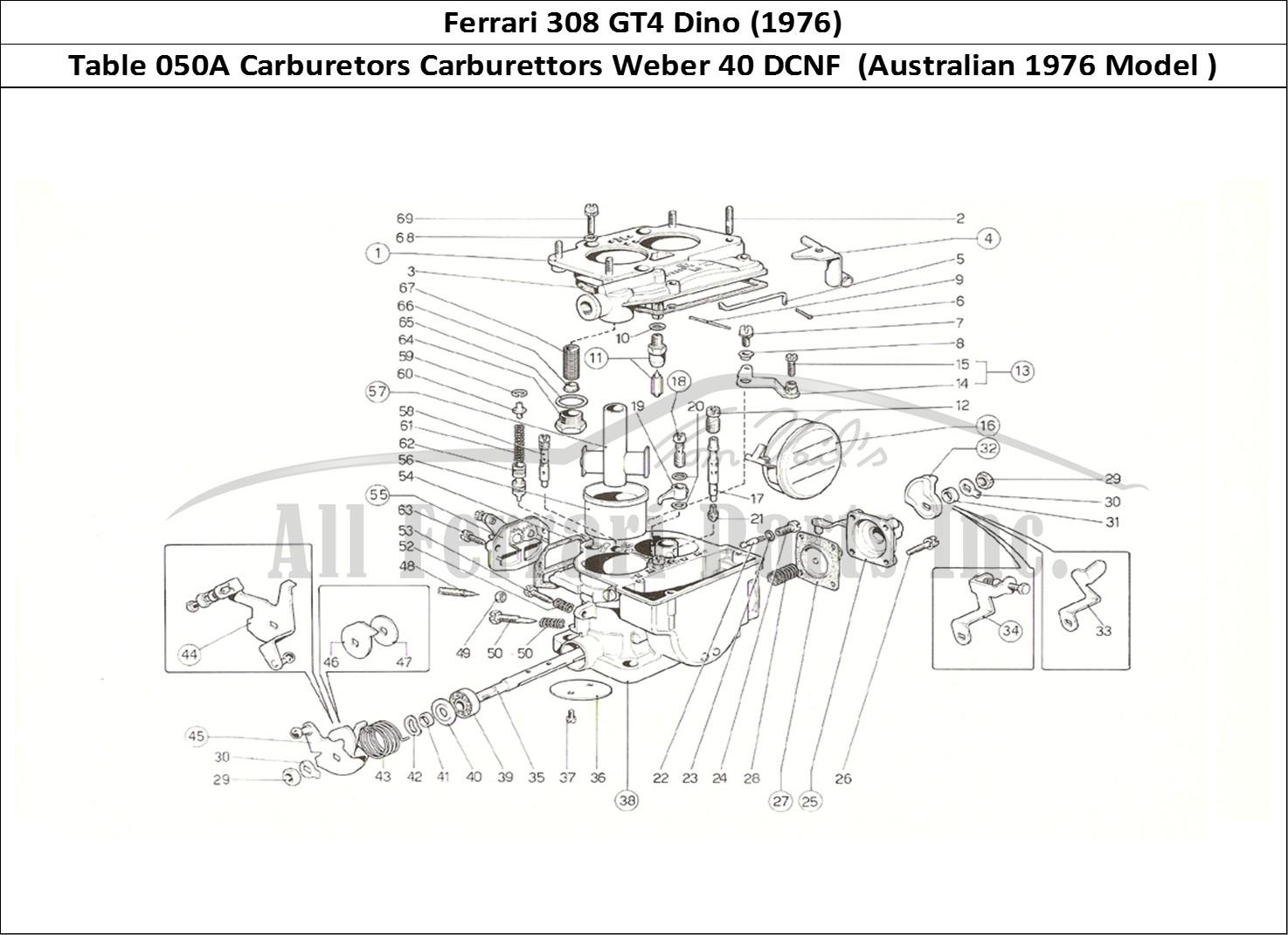 Buy original Ferrari 308 GT4 Dino (1976) 050A Carburetors