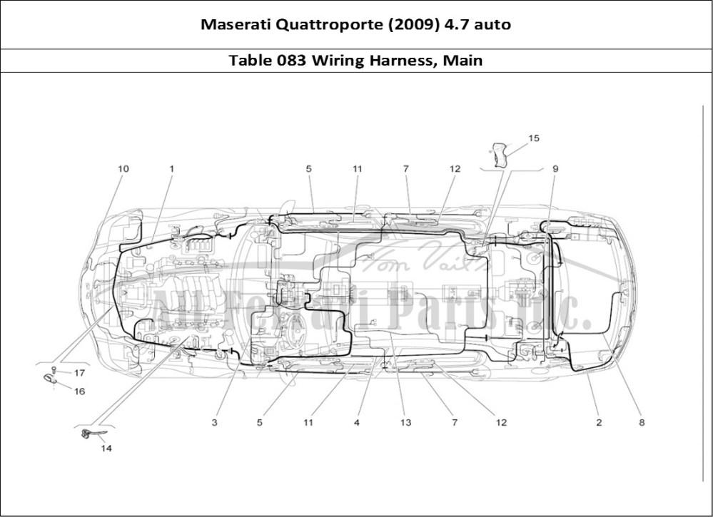 medium resolution of 2008 maserati wiring diagram wiring diagram centre 2008 maserati wiring harness color code
