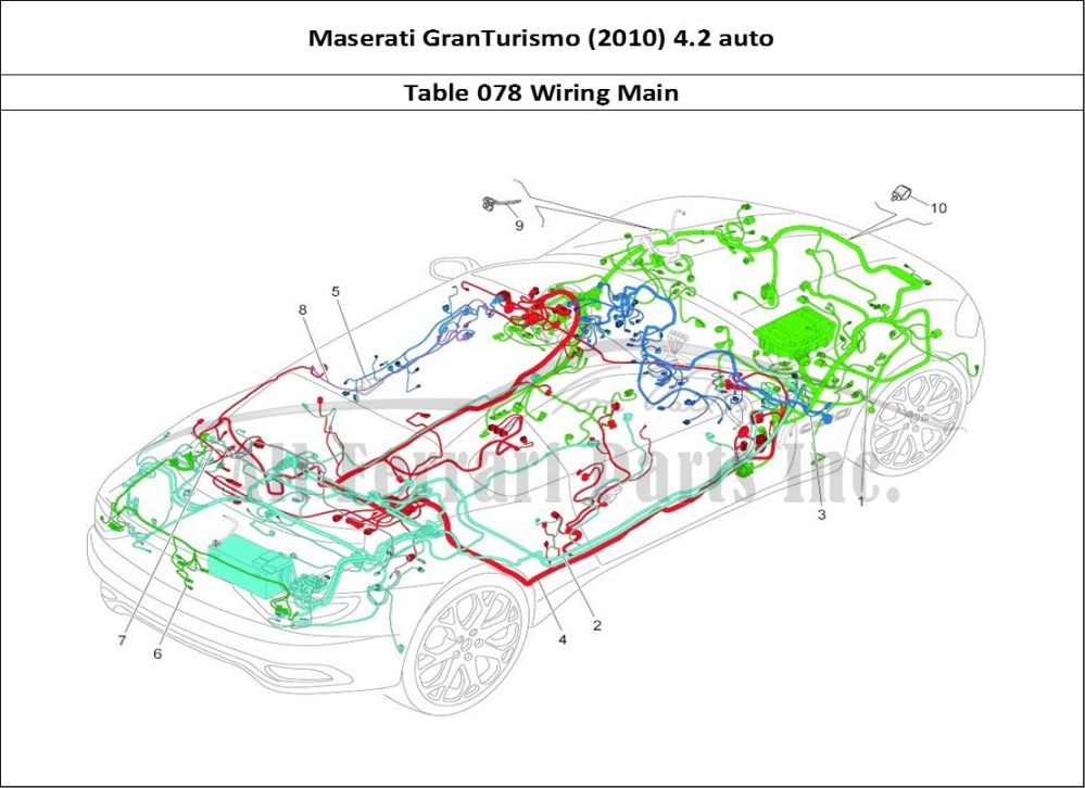 medium resolution of wiring diagram 2010 maserati granturismo wiring diagram forward buy original maserati granturismo 2010 4