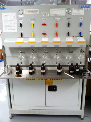 solvent system
