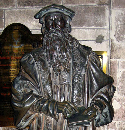John Knox in St. Giles. Photo by Ferrell Jenkins.