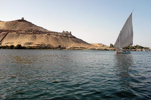 Kitchener's Island at Aswan, Egypt. Photo by Ferrell Jenkins.