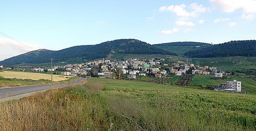 The town of Nein on the north slope of the Hill of Moreh. Photo by Ferrell Jenkins.