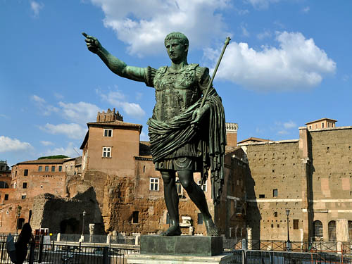 The Emperor Augustus. Photo by Ferrell Jenkins.