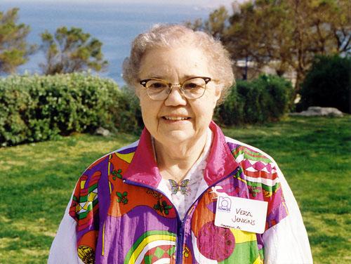 Vera Jenkins at Joppa in 1993. Photo by Ferrell Jenkins.
