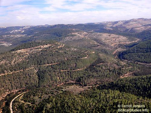 Judean Mountains SW of Jerusalem. Photo by Ferrell Jenkins.