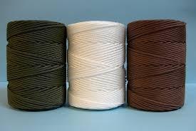 cuerda marron 3mm cazador nylon