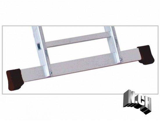 travesaño escalera base 1.32cm recambio aluminio