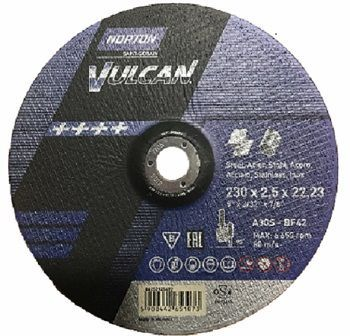 disco corte de acero norton