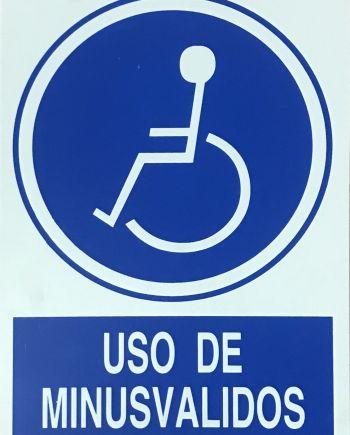 cartel pvc 40
