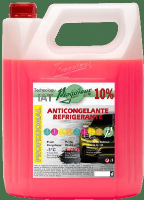anticongelante rosa 10%