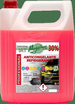 anticongelante rosa 30%