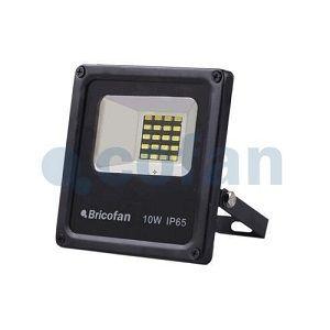 proyector led 10w blanco/negro