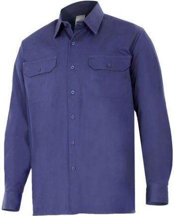 camisa algodón manga larga
