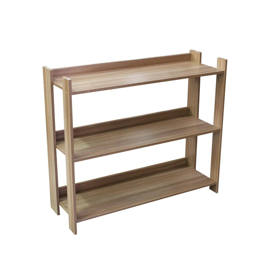 Mueble estante para organizar 08 mts castao platina 2323
