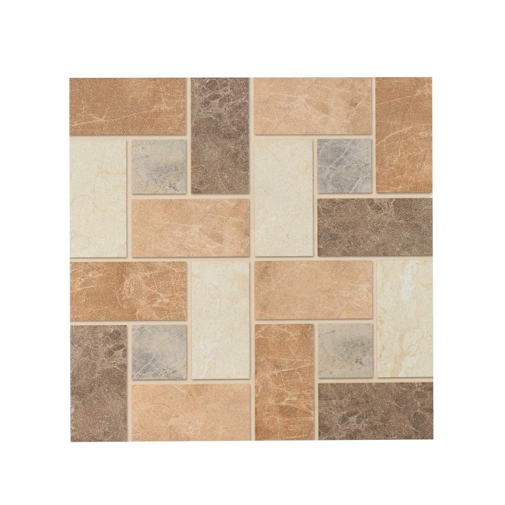 Cermica de piso de 33x33 cms alcala marrn  Ceramica para piso  HISPACENSA