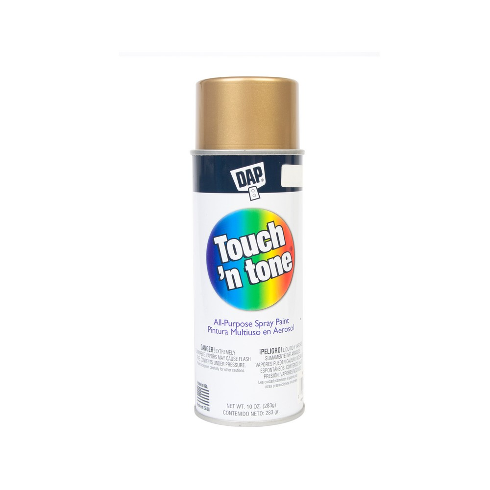 Pintura en spray color dorado de 10 oz  Spray  DAP