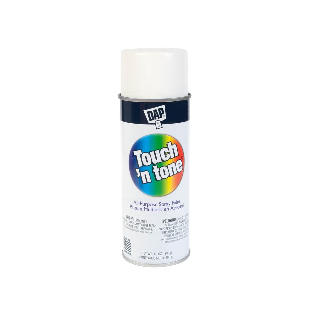 Pintura en spray color blanco mate de 10 oz  Spray  DAP