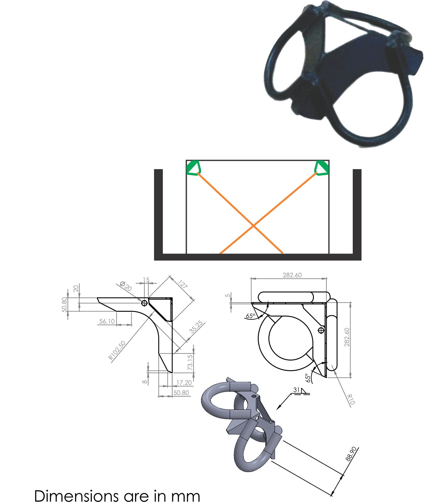 hight resolution of easily fits with ratchet lashing hooks and one way lashing straps