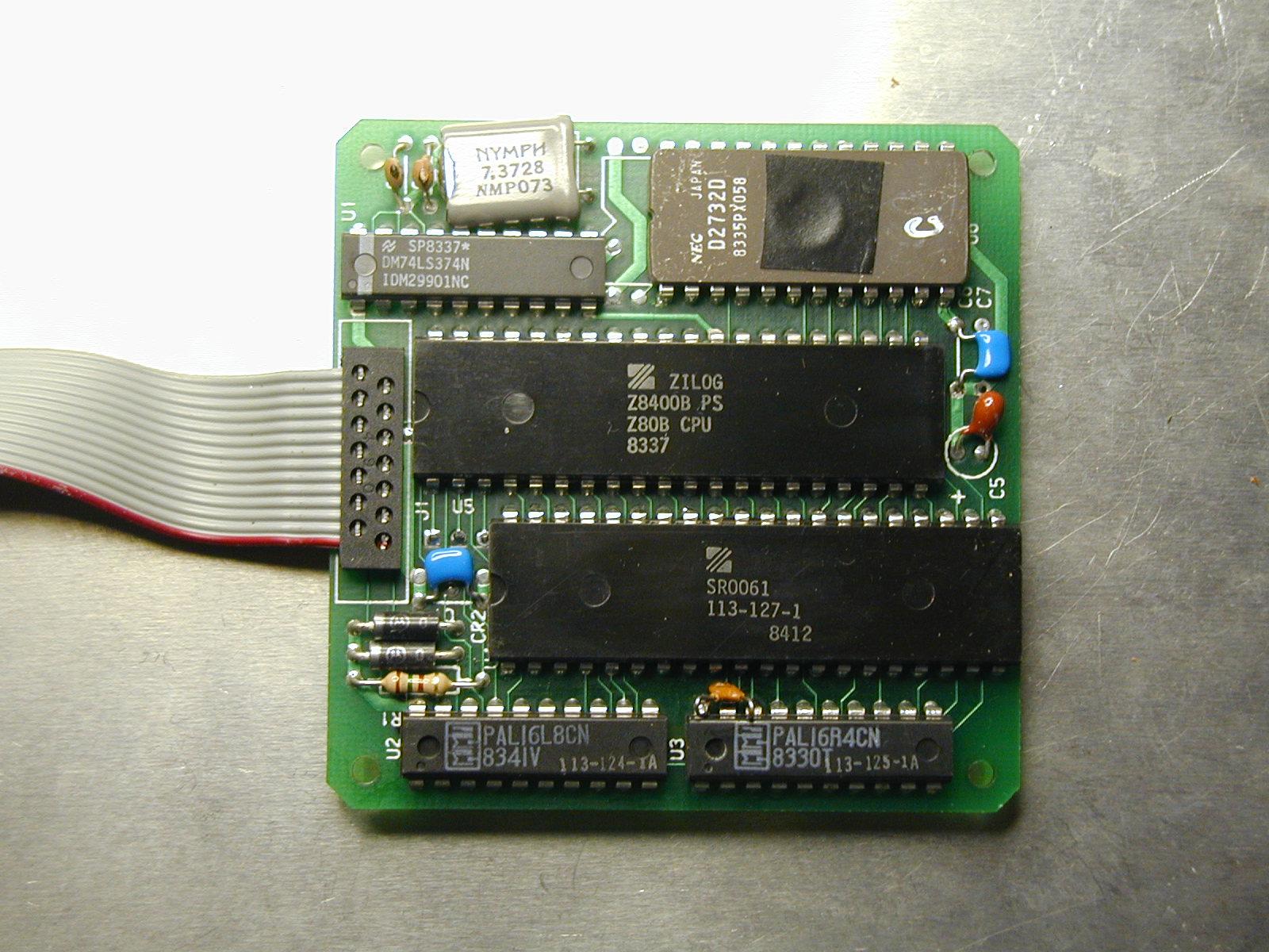 Nicolet Z80 Nice Emulator Tech Info
