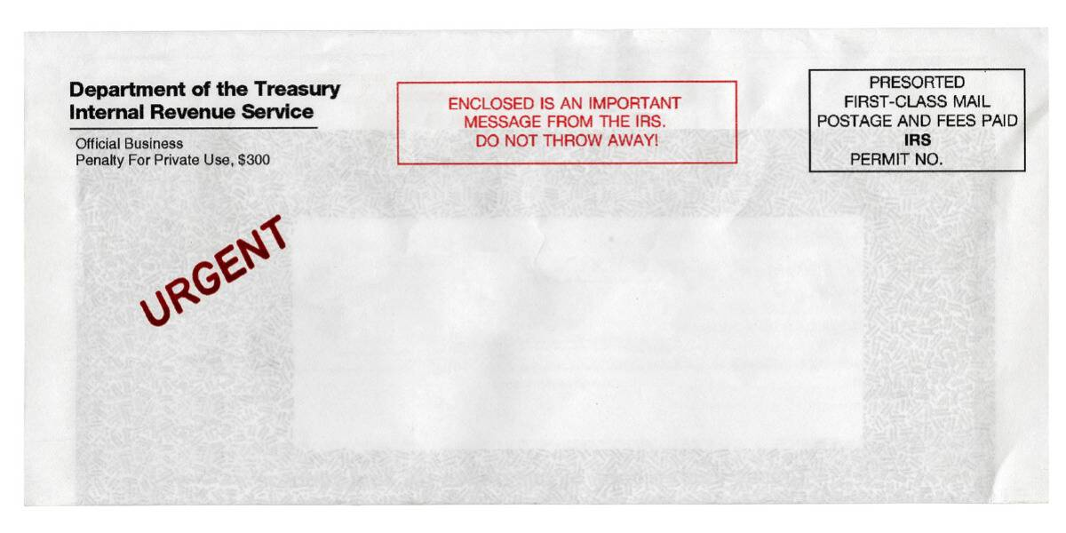 letter from IRS