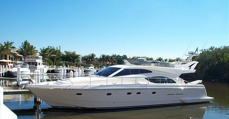 53 Ferretti Fly Bridge Yacht