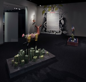 """Jason Walker: On the River, Down the Road"" installation exhibition at Bellevue Arts Museum, 2014"