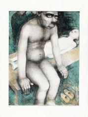 """Sergei Isupov, """"Metamorphosis"""" 2004, image: 23.75 x 17.5"""", framed: 30 x 22.5""""."""