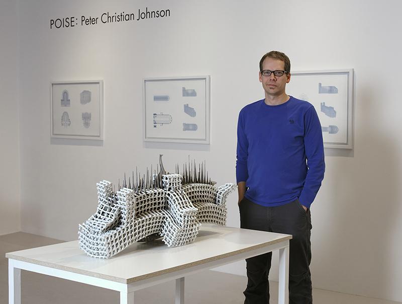 Peter Christian Johnson, portrait by John Polak.