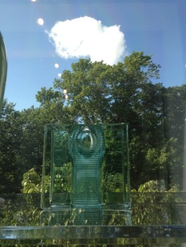 Tom Patti, Bi-Axial Tubated Clear River, Glass, 1980, The Daphne Farago Collection, MFA Boston